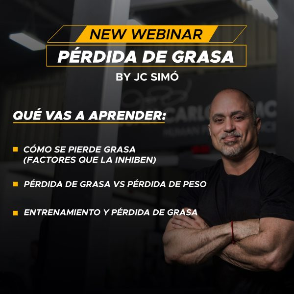 WEBINAR#2 PÉRDIDA DE GRASA & THE SIMO DIET THE SIMÓ DIET